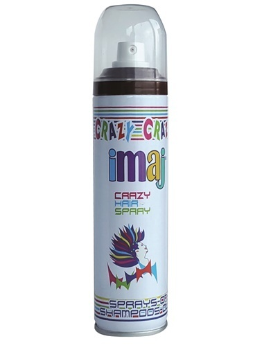 İmaj Crazy Saç Spray Kahve 100Ml Kahve